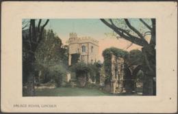 Palace Ruins, Lincoln, Lincolnshire, 1911 - Valentine's Postcard - Lincoln