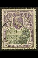 1903 2s Black & Violet, SG 60, Fine Cds Used For More Images, Please Visit Http://www.sandafayre.com/itemdetails.aspx?s= - St. Helena