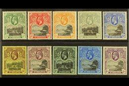 1912-16 KGV Wmk Mult Crown CA Definitives Set, SG 72/81, Very Fine Mint (10). For More Images, Please Visit Http://www.s - St. Helena