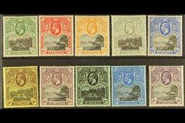 1912-16 KGV Pictorial Definitive Set, SG 72/81, Fine Mint (10 Stamps) For More Images, Please Visit Http://www.sandafayr - St. Helena