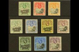 1912-16 Pictorial Definitive Set, SG 72/81, Fine Mint (10 Stamps) For More Images, Please Visit Http://www.sandafayre.co - St. Helena