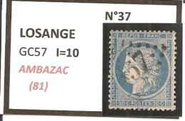 Y&T N°37 CLASSIQUE - 1863-1870 Napoleon III With Laurels