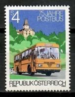 Austria 1982 / Postal Bus MNH Autobús Postal / Kl19  1-19 - Bus