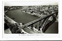 CPA-Carte Postale-Portugal-Porto-Vista Parcial E Ponte-1962 VM9223 - Porto