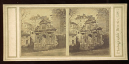 Stereoview - Medici Fountain, Paris - Stereoscopi