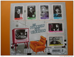 F4811 Les Pionniers De La Télévision. - Blocchi & Foglietti