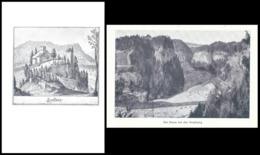 Ruine Grasburg / Sense           Ca. 1945 - BE Berne