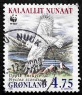 Greenland 1999   Snowy Owls  MiNr.332x    (o)  ( Lot  D 1731 ) - Oblitérés