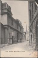 Maison Et Rue Calvin, Genève, 1904 - Jullien Frères CPA JJ2066 - GE Geneva