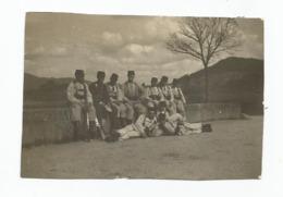 Photographie 88 Vosges 5 Chasseurs Manoeuvre Secteur Gerardmer Photo 5,5x8,3 Cm Env - Guerra, Militares