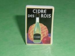 Fèves / Autres / Divers / Alimentation : La Galette Et Le Cidre , Plaque , Cidre Des Rois  T46 - Altri