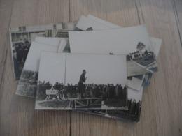 Lot 16 Cartes Photos  Militaires Militaria Militaire Personnalités Dont Inauguration Monuments Aux Morts Anglais - Guerre 1914-18