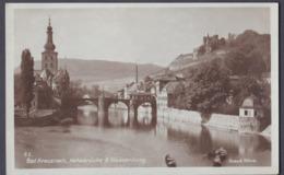 Ansichtskarte Bad Kreuznach Nahebrücke - Ungebraucht Neu - Sehr Alt - Bad Kreuznach