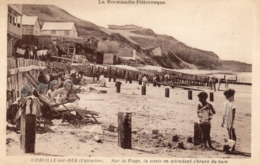 VIERVILLE-SUR-MER Sur La Plage ,la Sieste - Frankreich