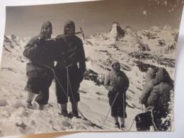 Photo (24/17,5cm) Du Sommet De L'Everest (Tibet) à L'époque D'Herzog. - Sport
