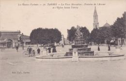 [65] Hautes Pyrénées > Tarbes La Place Marcadieu Fontaine De L'amour Et L'église Ste Thérèse - Tarbes