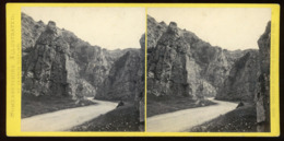 Stereoview - Cheddar Cliffs SOMERSET By F. Bedford - Visionneuses Stéréoscopiques