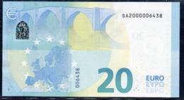RARE € 20  ITALIA SA200000  S001   UNC - EURO