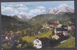 Ei_ Ansichtskarte Berchtesgaden - Ungebraucht - Watzmann Schönfeldspitze - Berchtesgaden