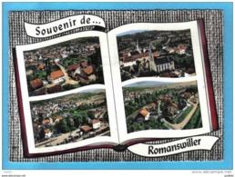 Carte Postale 67. Romanswiller  Vue D'avion  à Livre Ouvert   Trés Beau Plan - France