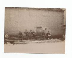 Photographie 88 Vosges 5 Chasseurs Manoeuvre Secteur Lac Gerardmer Photo 8,2x11 Cm Env - Guerra, Militares