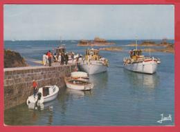CP- 22- Pointe De L'ARCOUEST - Embarcadère Pour L'Ile De BRÉHAT * Animation *SUP 2 SCANS ** - Perros-Guirec