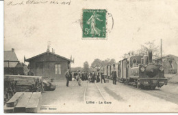 LIFFRE. La Gare. Train Tramway - Other Municipalities