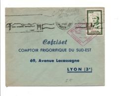 MAROC 1 ERE LIAISON PAR CARAVELLE POUR LA FRANCE 1960 - Morocco (1956-...)