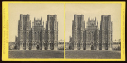 Stereoview - Wells Cathedral SOMERSET By F. Bedford - Visionneuses Stéréoscopiques