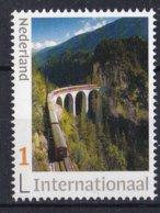 Nederland - 5 November 2019 - Bernina Express - Brug/bridge/Brücke/pont - MNH - Zegel 2 - Internationaal 1 - Bruggen