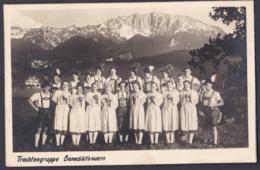 Ansichtskarte Benediktbeuern - Ungelaufen - Trachtengruppe Mit Unterschriften 1948 - Germania