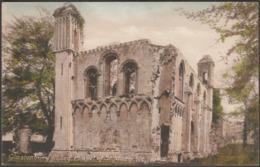 Chapel Of St Mary, Glastonbury Abbey, Somerset, C.1920 - Frith's Postcard - England
