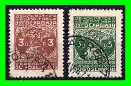 YUGOSLAVIA SELLO AÑO 1945-47 PARTISANOS - 1931-1941 Reino De Yugoslavia