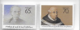 TIMBRES - STAMPS - PORTUGAL - 1990 - FREI BARTOLOMEU DOS MÁRTIRES E CAMILO CASTELO BRANCO - SÉRIE TIMBRES NEUFS - MNH - Famous People