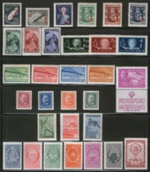 Yugoslavia, 1948, Complete Year, MNH (**) Michel 536-566 - Yugoslavia