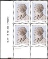 France Coin Daté N° 4915 ** (2 Tirets) Évariste De Parny - Militaire Et Poète Du 18.09.2014 - Coins Datés