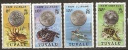 Tuvalu  1976  SG  26-9 New Coinage    Unmounted Mint - Tuvalu