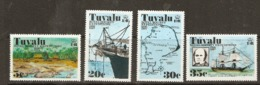 Tuvalu  1976  SG  77-80  Royal Society Expedition  Unmounted Mint - Tuvalu