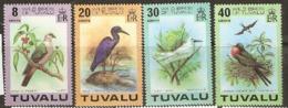 Tuvalu  1976  SG  81-4  Birds  Unmounted Mint - Tuvalu