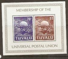 Tuvalu  1981 SG  MS179  U.P.U.    Unmounted Mint - Tuvalu