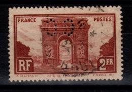 Perforé - YV 258 Perforé CC , Dentelure Imparfaite Nord-Ouest - France