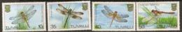Tuvalu  1983 SG  217-20  Dragonflies     Unmounted Mint - Tuvalu