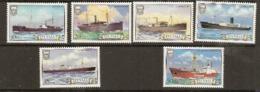 Tuvalu  1984 SG  235-40  Ships  2nd Series  Unmounted Mint - Tuvalu