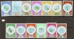 Vanuata   1981 SG 287E-99E  Islands In English    Unmounted Mint - Vanuatu (1980-...)