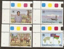 Vanuata   1983 SG 361-4  Commonwealth Day   Unmounted Mint - Vanuatu (1980-...)
