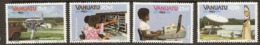 Vanuata   1983 SG 372-5  World Communication Year   Unmounted Mint - Vanuatu (1980-...)