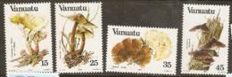 Vanuata   1984 SG 377-80  Fungi   Unmounted Mint - Vanuatu (1980-...)