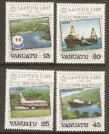 Vanuata   1984 SG 381-4  Lloyds List  Unmounted Mint - Vanuatu (1980-...)