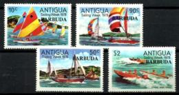 Barbuda Nº 381/84 En Nuevo - Antigua Y Barbuda (1981-...)