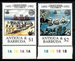 Barbuda Nº 1252/53 En Nuevo - Antigua And Barbuda (1981-...)